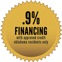 .9% Financing with approved credit for Oklahoma Central Credit Union members