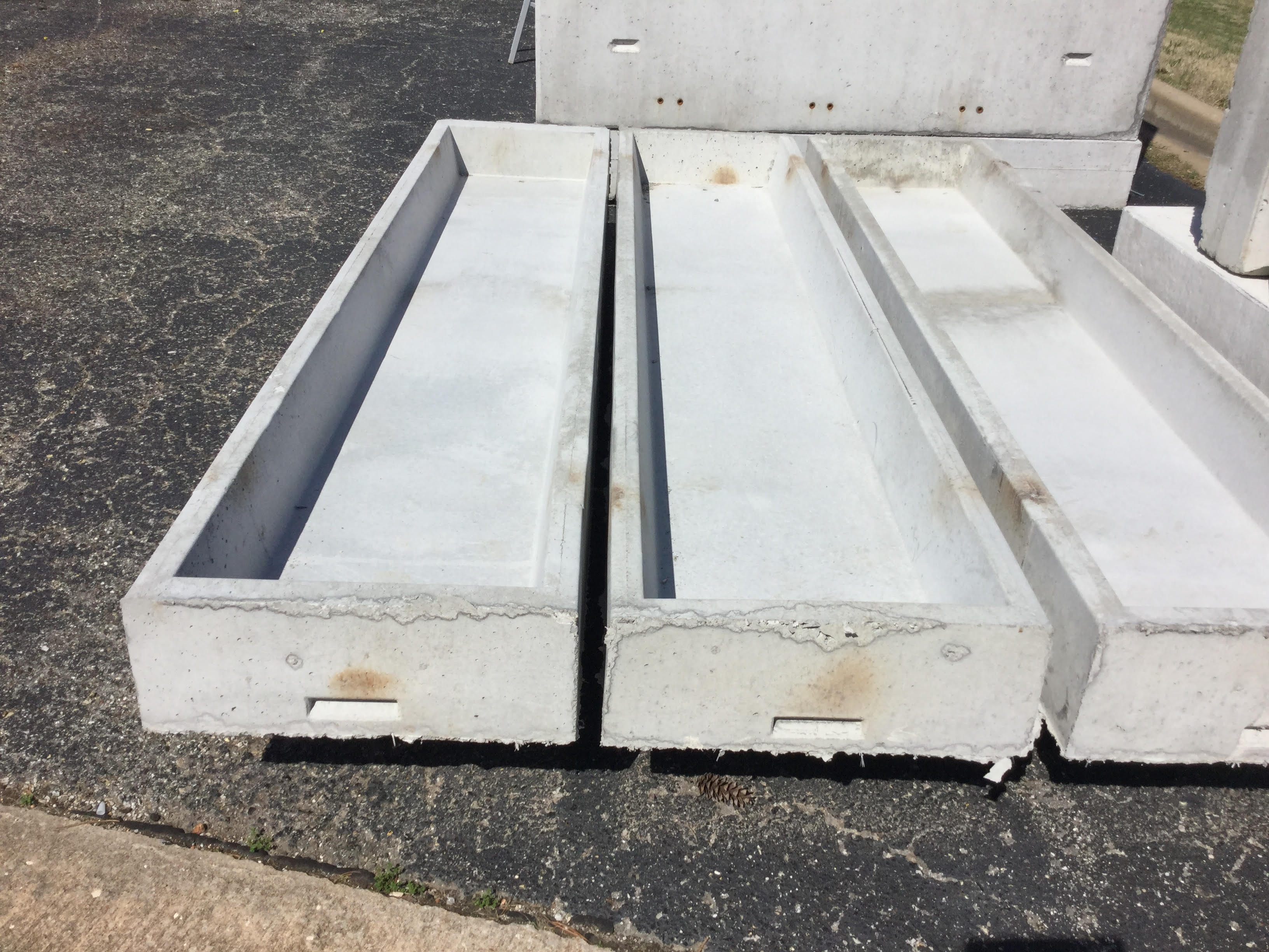 Cement Feed Bunks : Concrete feed bunk